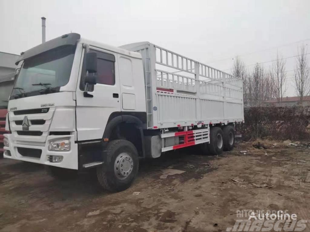 Howo box truck Cargo truck