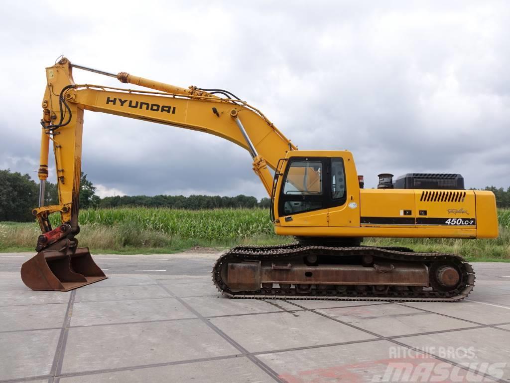 Hyundai Robex 450 LC-7 (Nice machine)