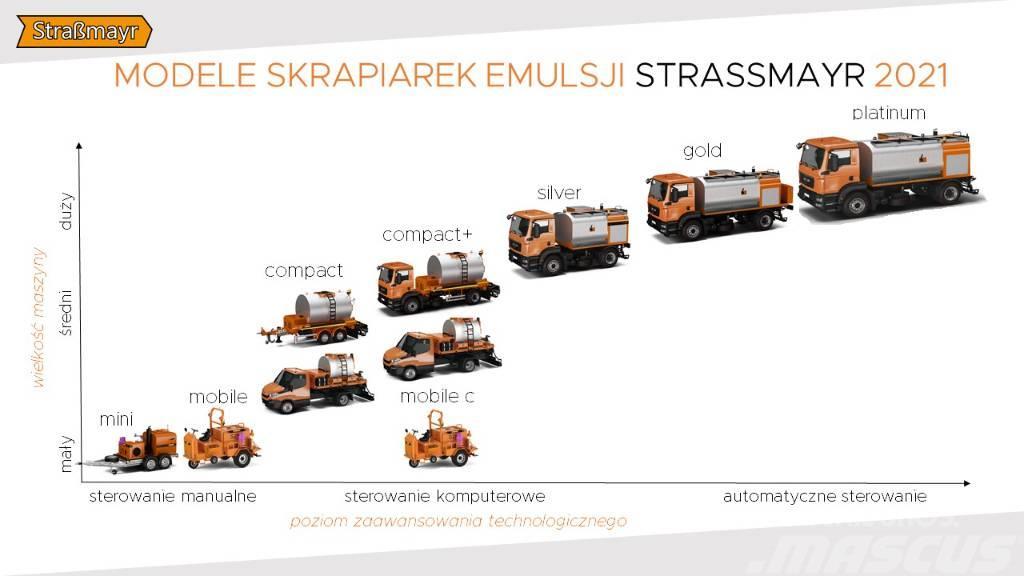 Strassmayr Skrapiarka Compact / Silver / Gold
