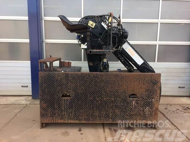 Hiab kraan roller 110 hydraulisch uitschuifbaar
