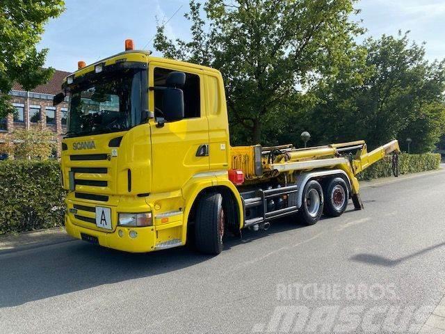 Scania R420 LB6X2 Absetzkipper Meiller AK 16. NT/Lift+Len