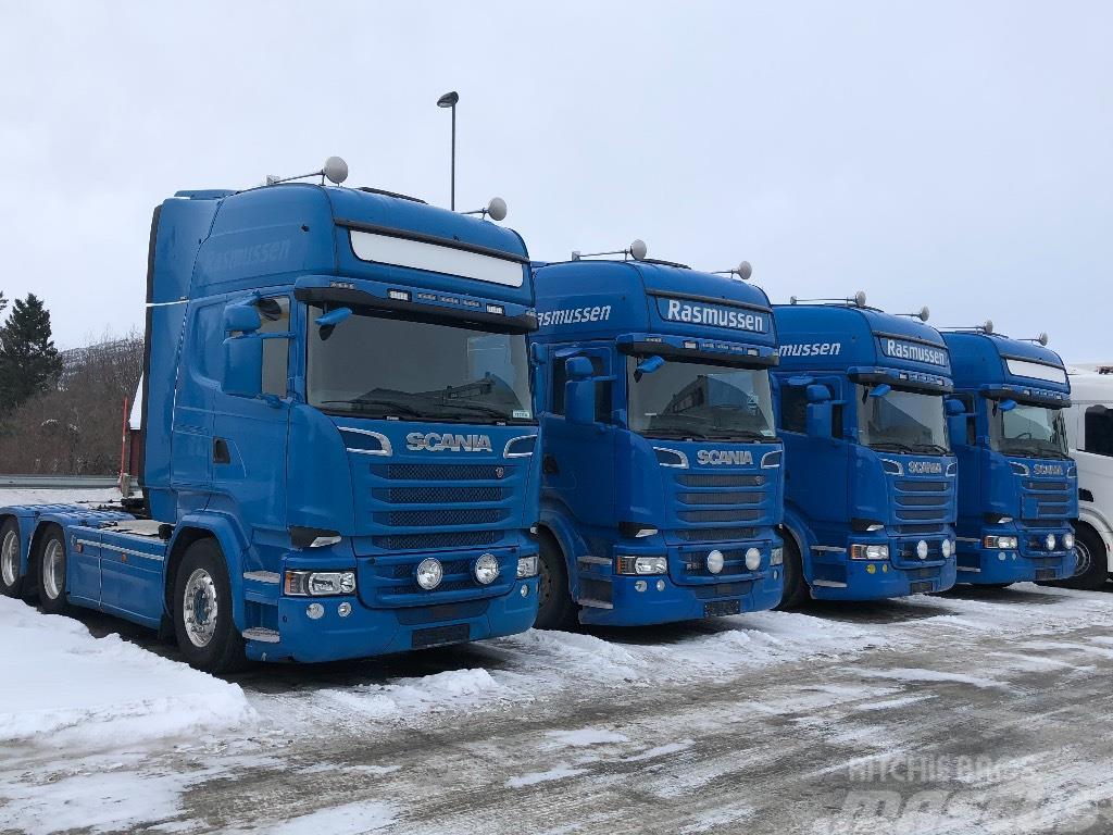 [Other] 10 x Scania 6x4 R580 V8 Topline