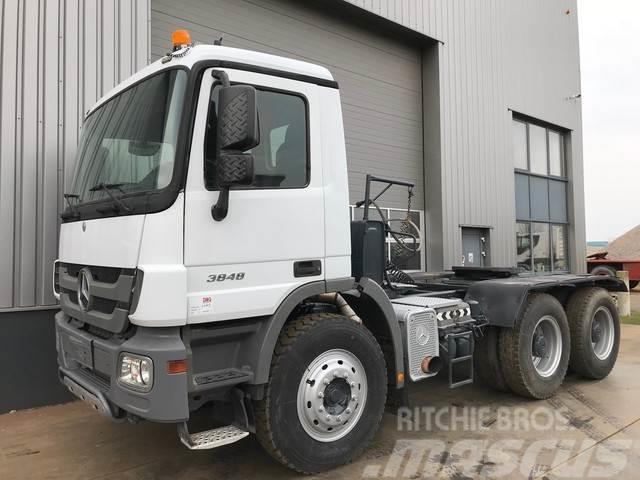 Mercedes-Benz Actros 3848 6x4 Tractor Head