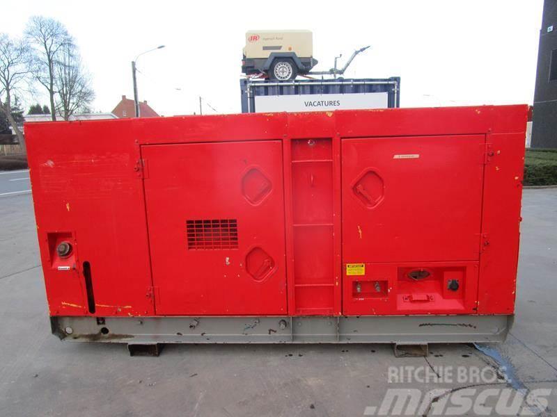 Used Atlas Copco QAS 125 KD diesel Generators Year: 1991 for