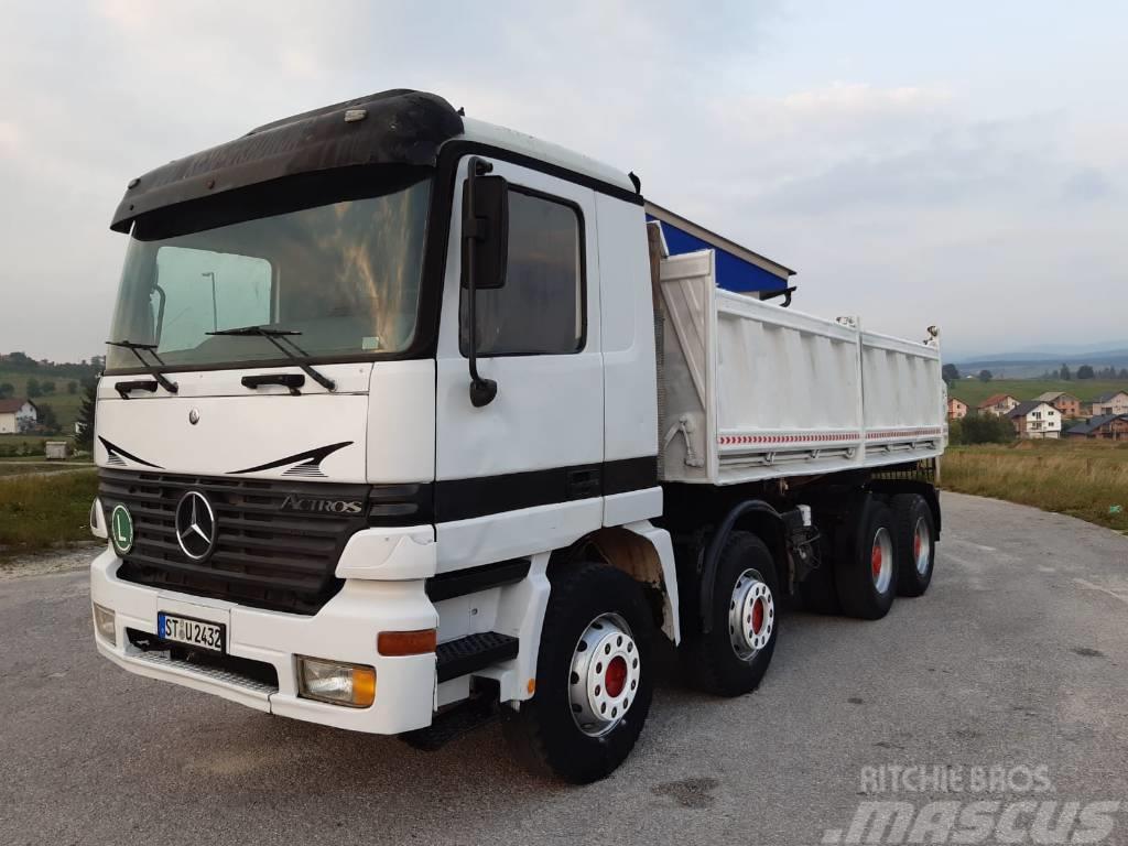 Mercedes-Benz ACTROS 4143 8x4 meiller tipper