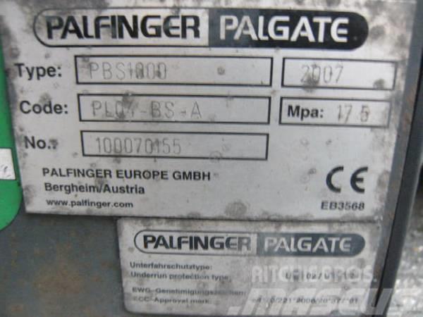 Palfinger Palgate PBS1000, 2007, Övriga