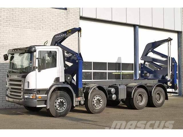 Scania P 380 8X4 CONTAINER SIDE LOADER