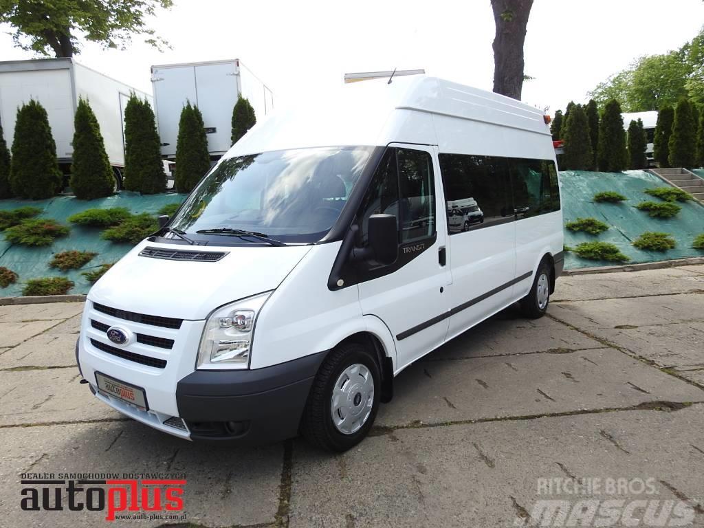 Ford TRANSIT BUS 9 MIEJSC RAMPA WEBASTO KLIMA