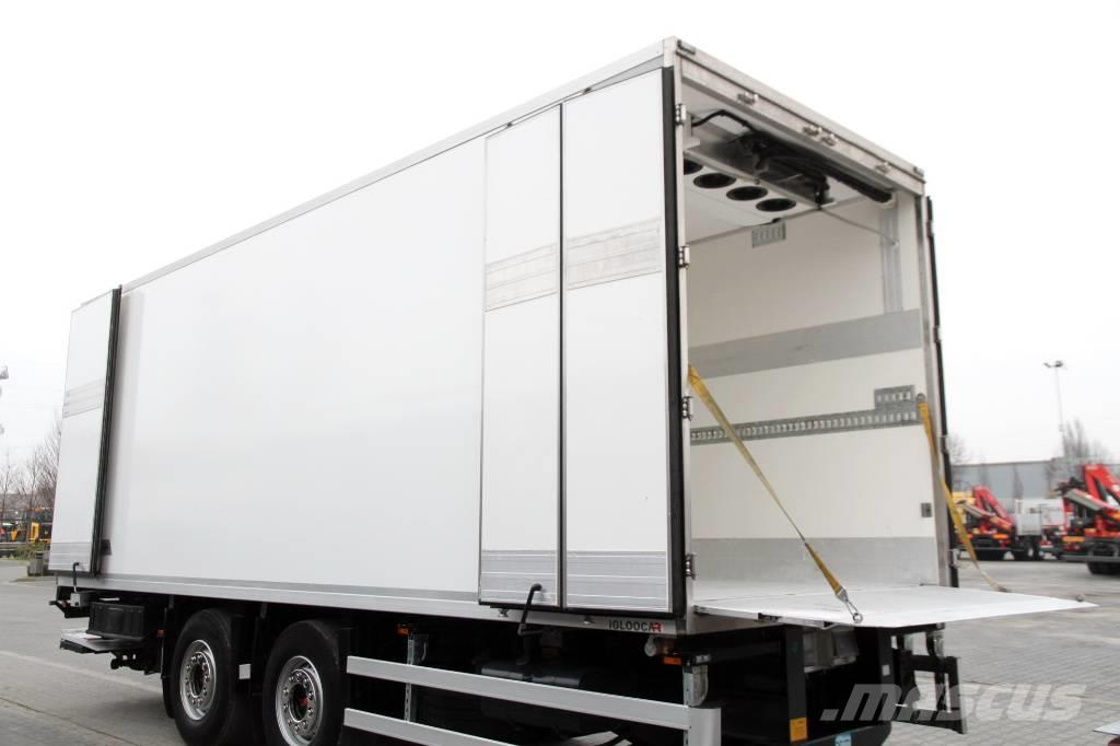 Wielton Refrigerated trailer  /18 epal/Carrier/BA