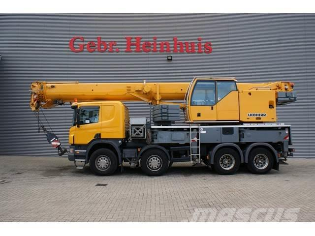 Scania P380 8x4 Liebherr LTF 1045-4.1 Jip 9.5 meter!