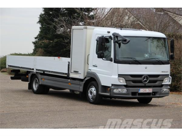 Mercedes-Benz ATEGO 816 !!2012!!OPEN LAADBAK!!MATERIAALBOX!!EURO