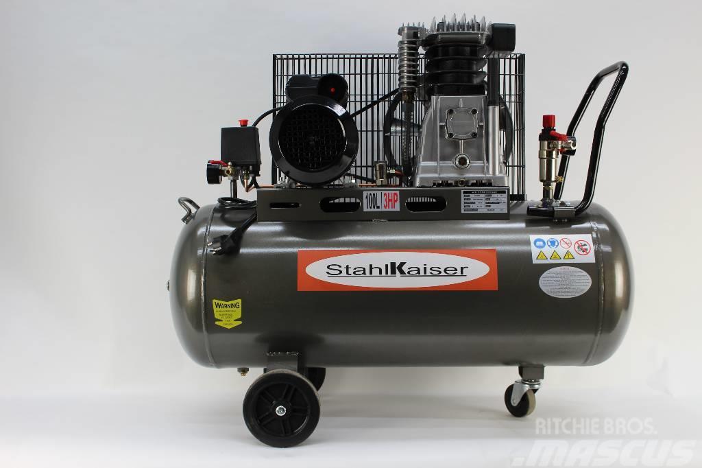 Stahlkaiser kompressori 100 litraa  3HP (Q06)