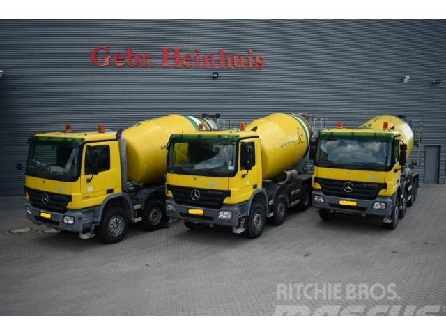 Mercedes-Benz Actros 4141 8x4 10 Kub Mixer 3 Pieces! ID NR: 226