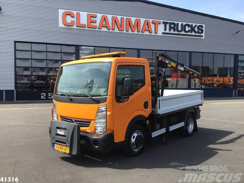 Renault MAXITY 2.5 DCI Hiab 008T-2 laadkraan