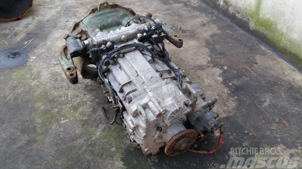 Mercedes-Benz G135 Eps handgeschakeld, Växellådor