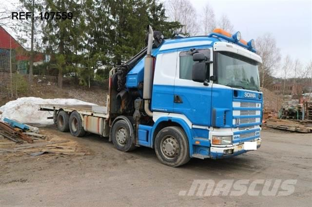 Scania R144.530 - SOON EXPECTED - 8X2 MANUAL RETARDER HMF