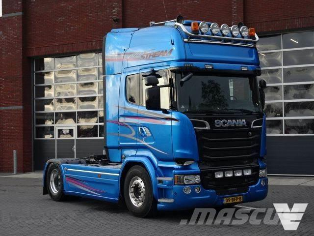 Scania R580 Blue Stream, limited, full options