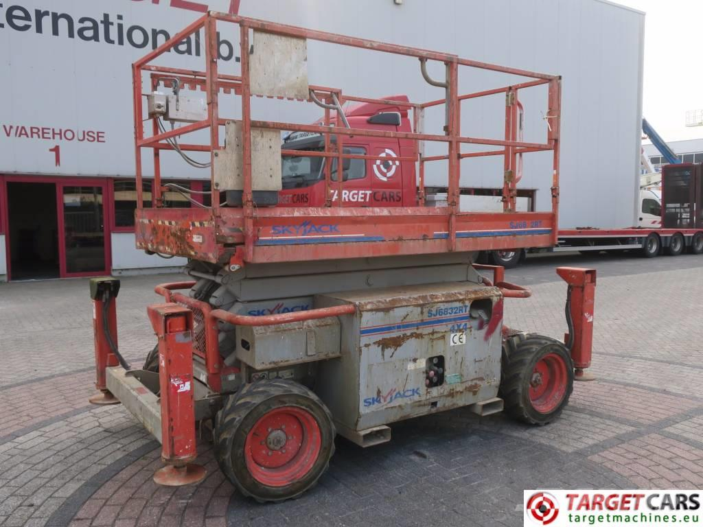 SkyJack SJ6832RT Diesel 4x4 Scissor Worklift 1180cm