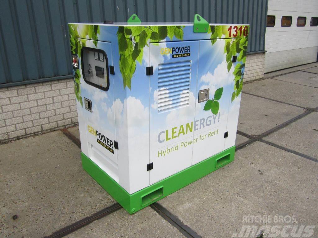 Genpower Cleanergy! 30kVA Batterij