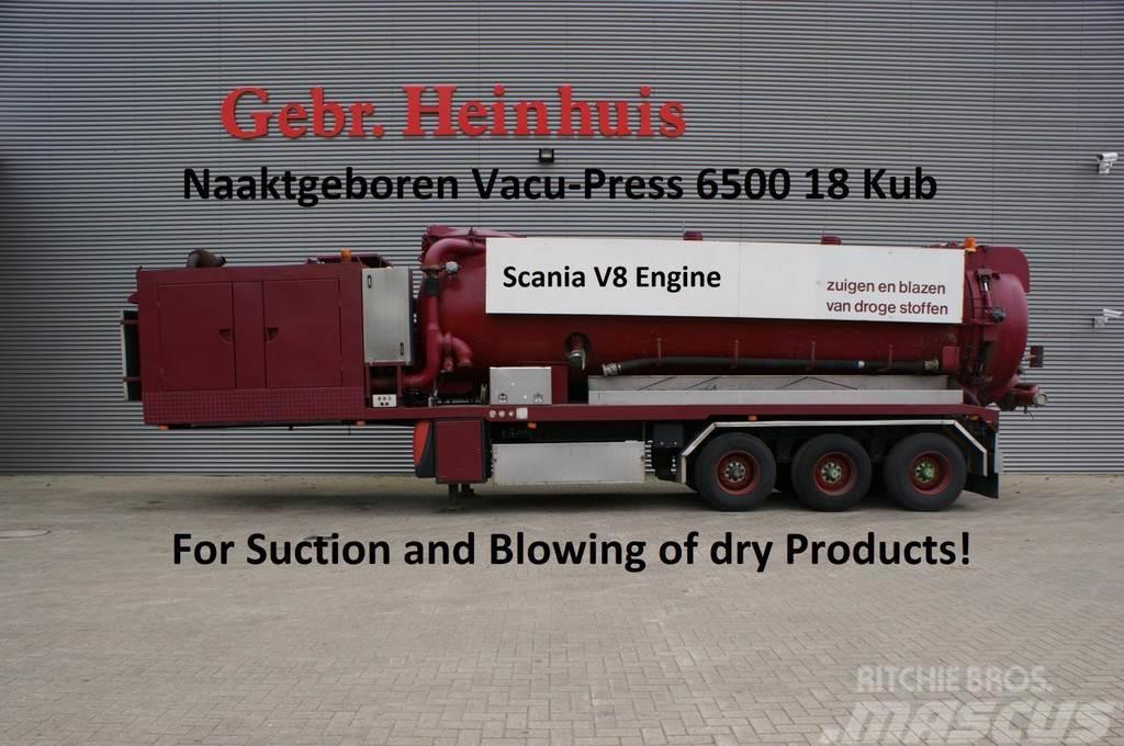 Burg BPDO 17-27Naaktgeboren Vacu-Press 6500 18 kub cap