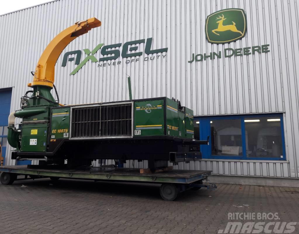 Dutch Dragon EC10075 houtversnipperaar, woodchipper, Holzhacker