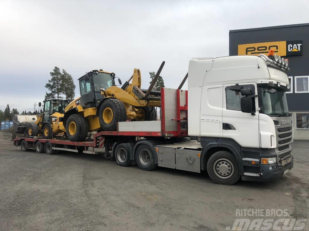 Scania R500 + HRD trailer13,6m+ 6m