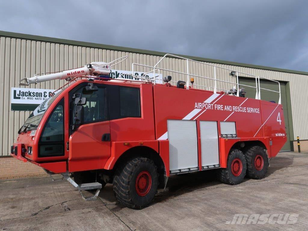 [Other] Sides VMA 112 6x6 Airport Crash Tender