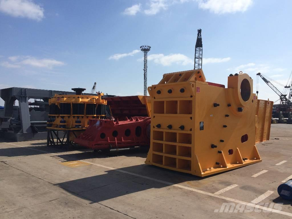 White Lai Stone Rock Crushing Machine Jaw Crusher PE100x1200