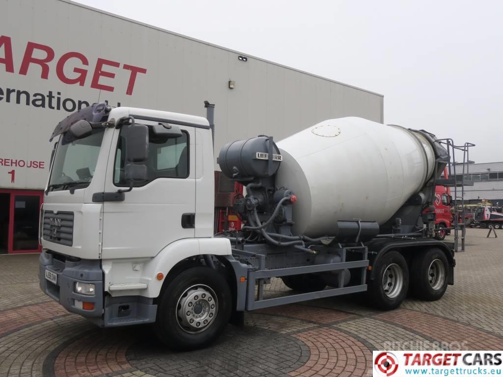 MAN TGM 26.280 6x4 Concrete Liebherr Mixer Mixing