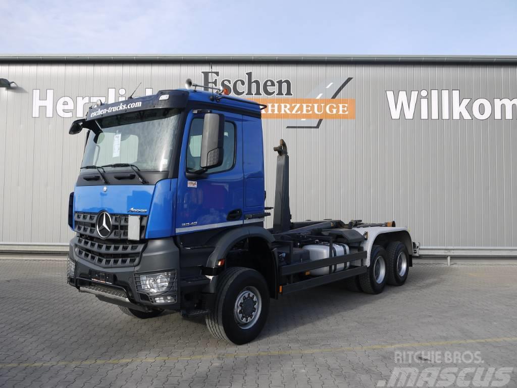 Mercedes-Benz Arocs 3348 6x6, Blatt, AP Achsen, Meiller RK 20.65