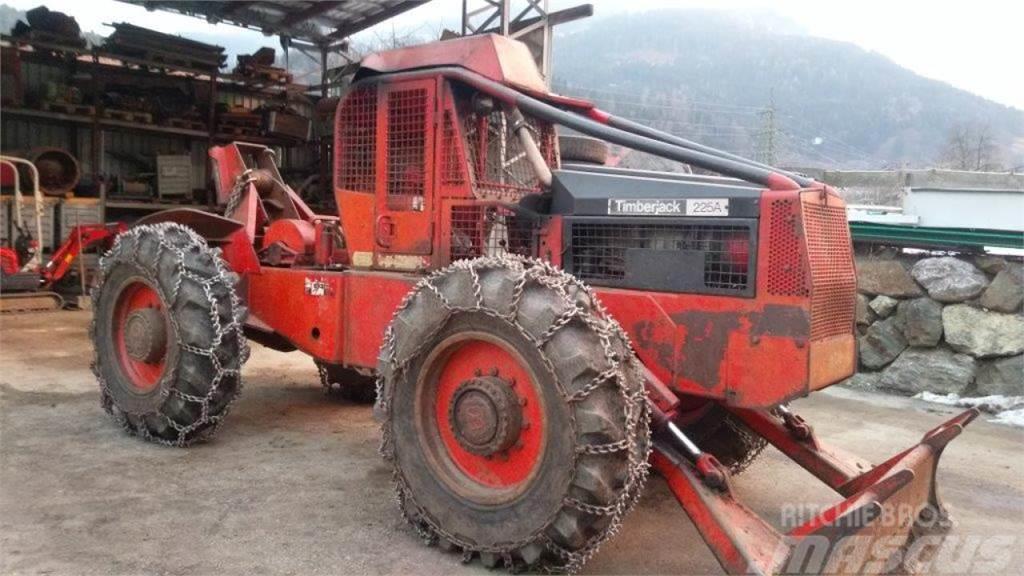 Timberjack 225 Brakes