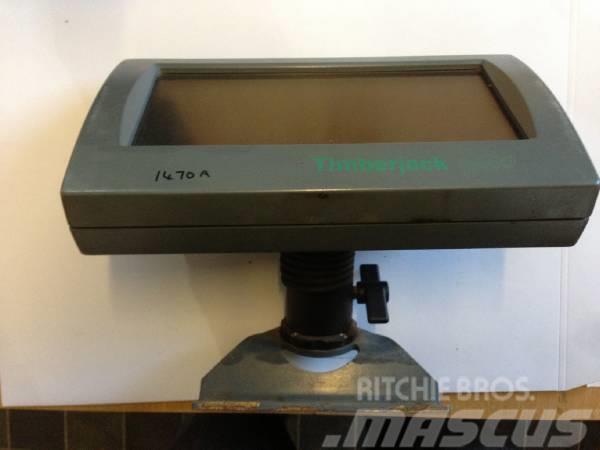 Timberjack TJ3000 screen F602114