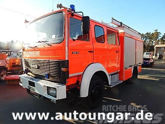 Iveco Magirus 120-23 AW 4x4 LF16-12 Feuerwehr 1600Liter