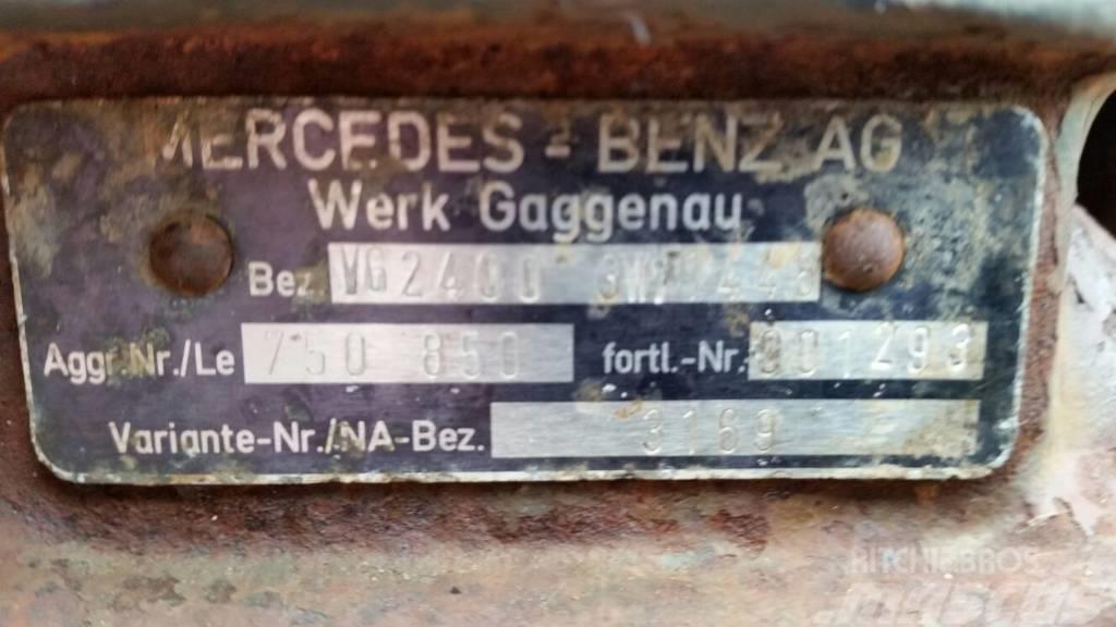 Mercedes-Benz VG24003 W1448, Växellådor