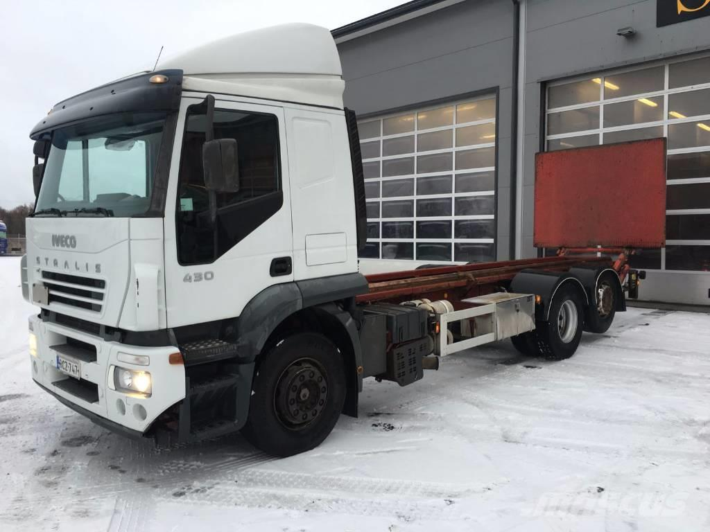 used iveco stralis 430 6x2 container frame trucks year 2004 price 9 878 for sale mascus usa. Black Bedroom Furniture Sets. Home Design Ideas