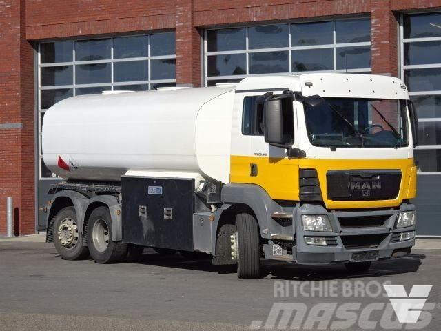 MAN TGS 400 - 6x2*4 - Fuel truck - 3x compartiment - 1