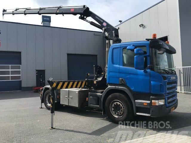 Scania P360, HMF 2020 Kraan, Crane, Kran Grua, Gru No HIA