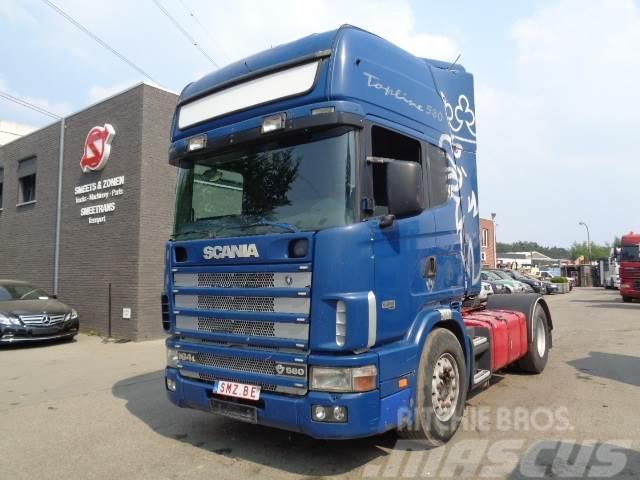 Scania 164 L 580 Topline retarder hydraulic