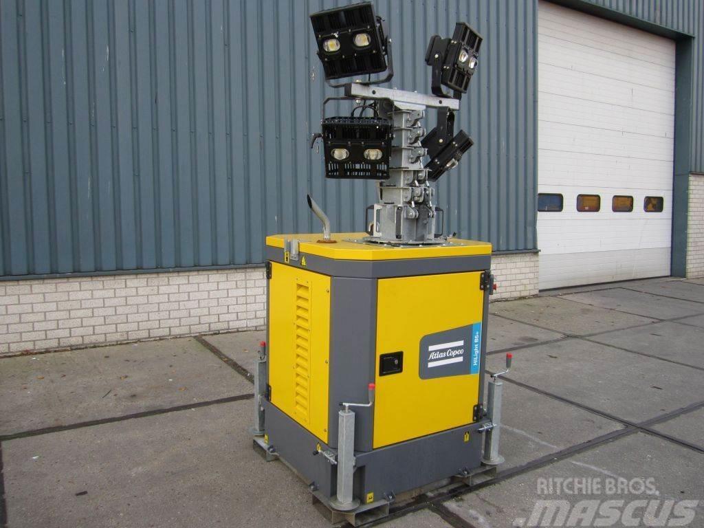 Atlas Copco Lichtmast B5+KD