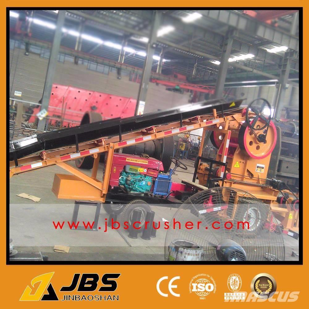 JBS 10 TPH MOBILE TRACTOR JAW CRUSEHR PALNT mtc2540