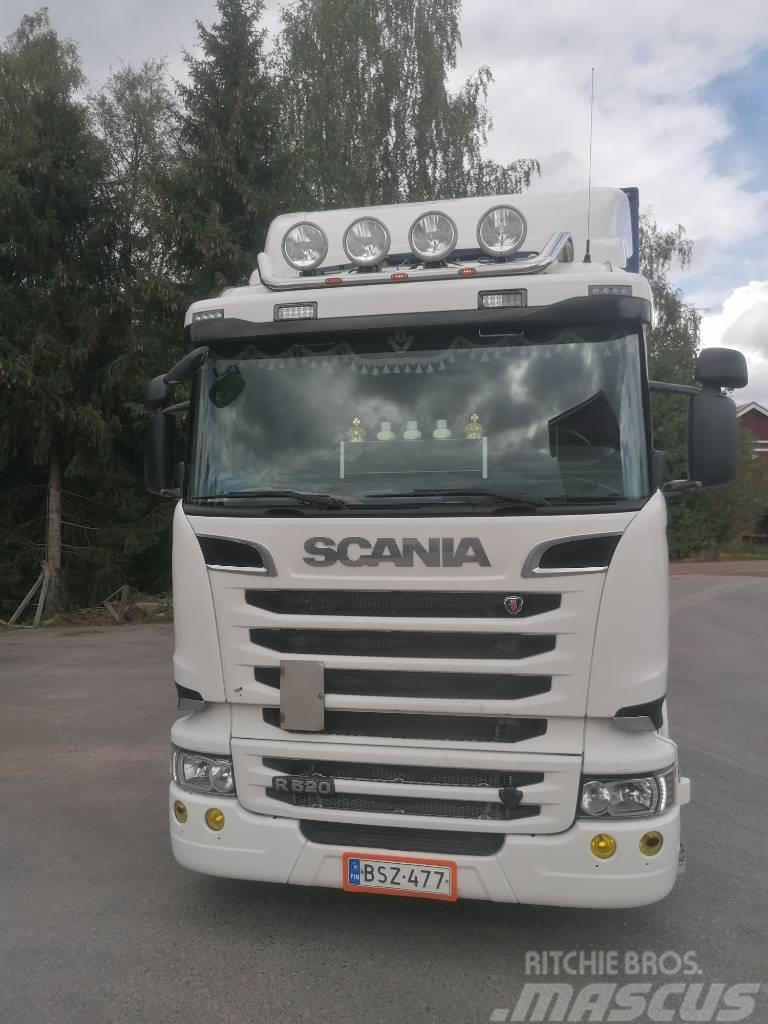 Scania R520, kylkiaukeava, also export