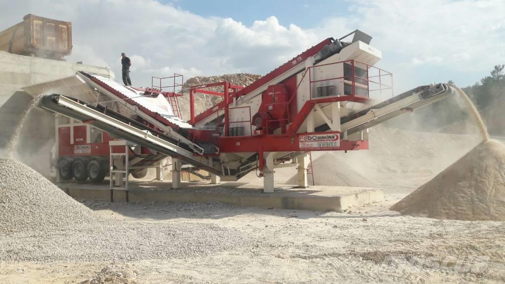 Fabo PRO 180 MOBILE CRUSHING & SCREENING PLANT