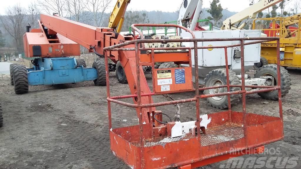 jlg 80hx 6, 2000, telescopic boom lifts