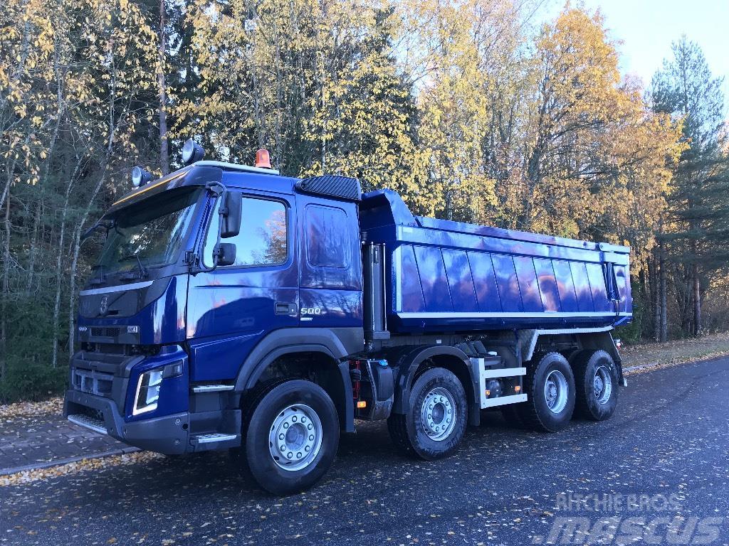 Volvo FMX 8X4 Lämpölava