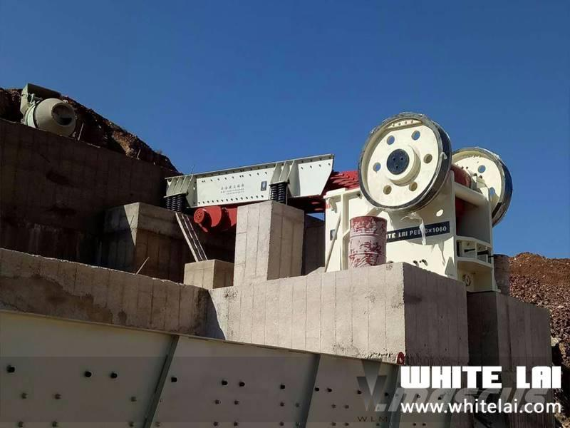 White Lai PE870X1060 JAW CRUSHER