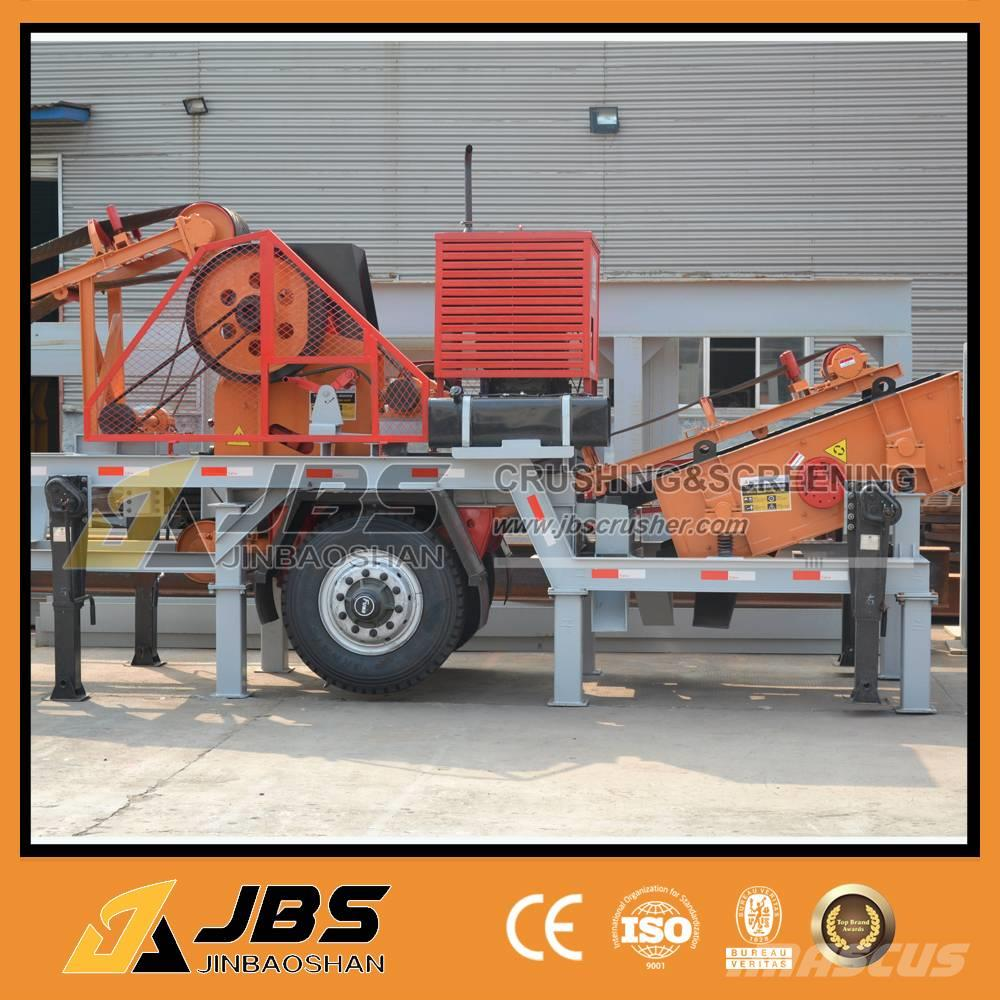 JBS MC2540 Diesel engine mobile stone crushing plant