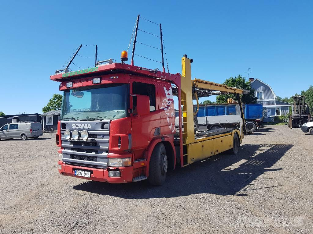 Used Scania P 114 340 Car Haulers Year 2000 Price Us 8 878 For