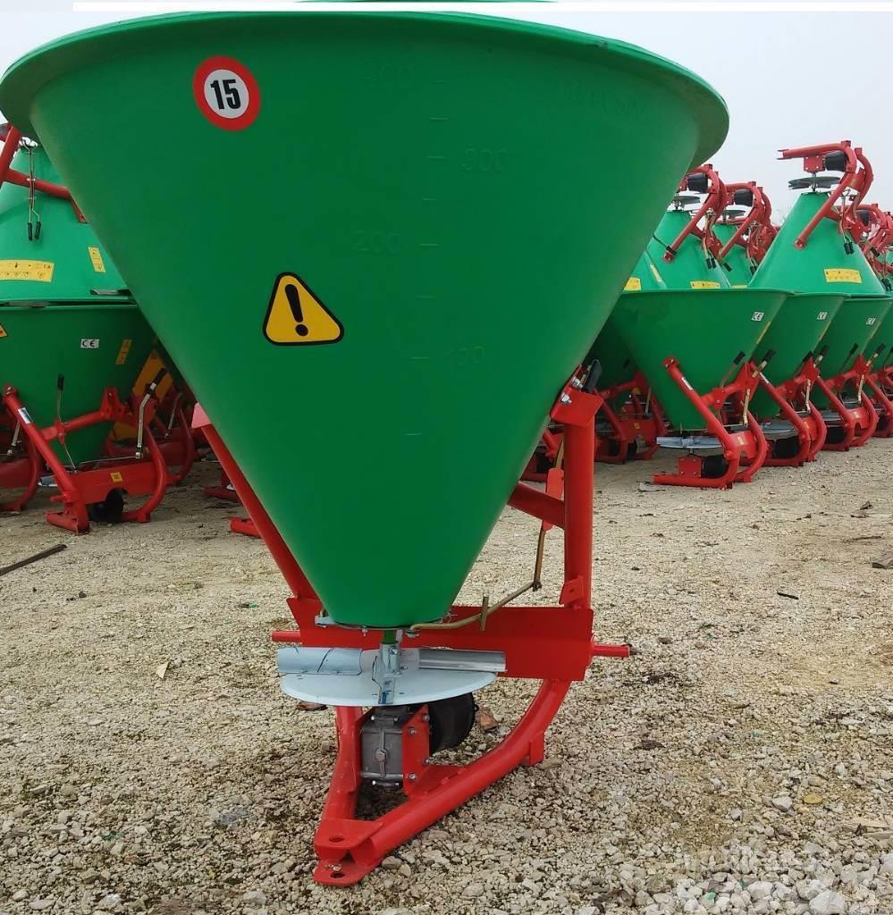 Top-Agro Mineral fertilizer 200 L, INOX spreading unit
