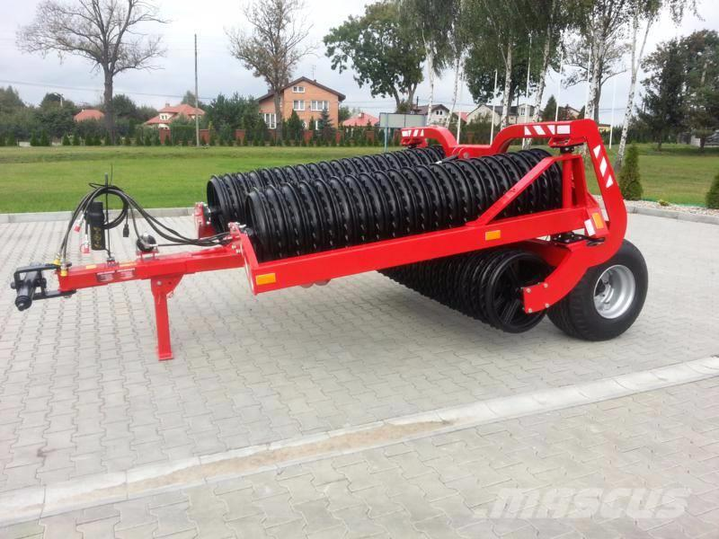Agro-Factory Grom Tytan roller/ rouleau 530mm Cambridge, 6,3m