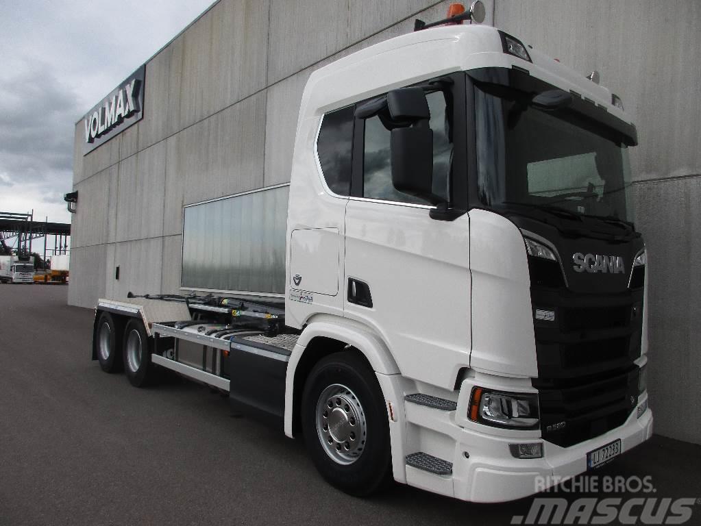 Scania R580 6x2 Krokbil